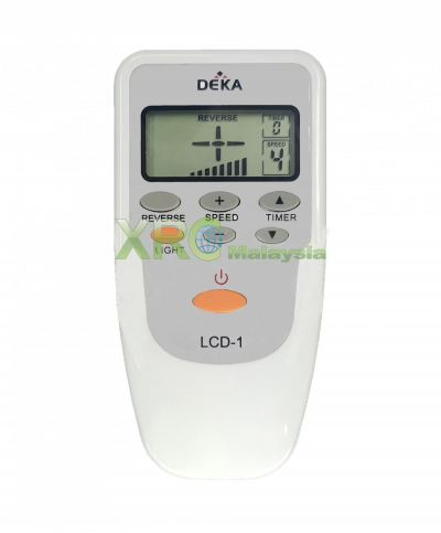 DEKA V6 CEILING FAN REMOTE CONTROL