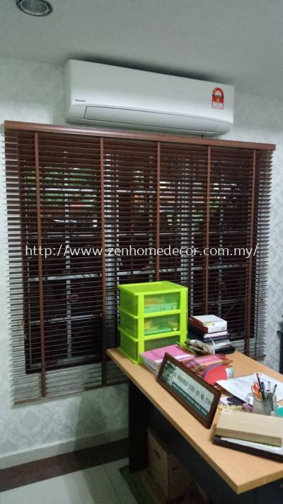 Indoor Timber Blinds