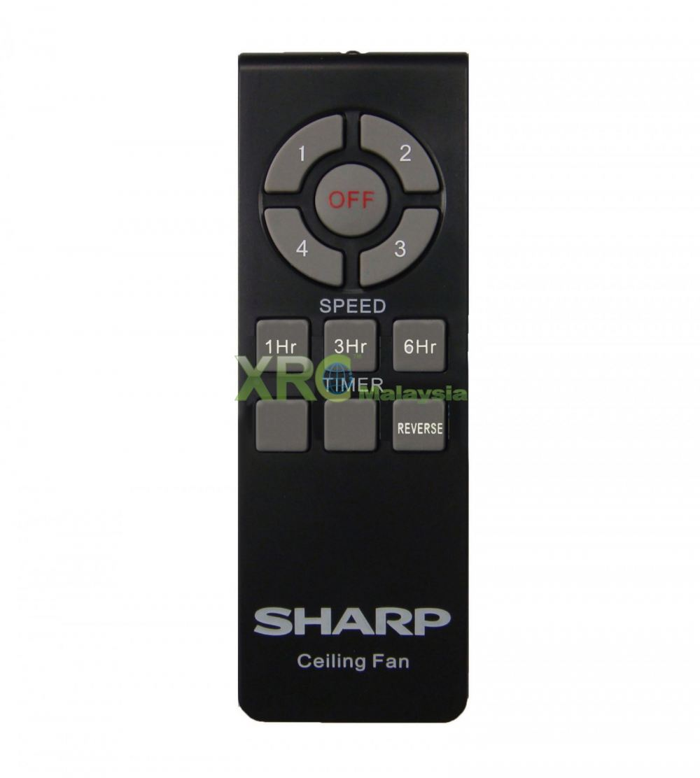 PJC186WD SHARP CEILING FAN REMOTE CONTROL SHARP FAN REMOTE