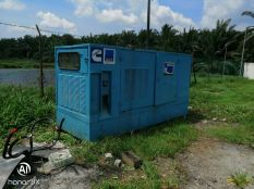 Genset rental unit 150kva at Water Filtering Plant