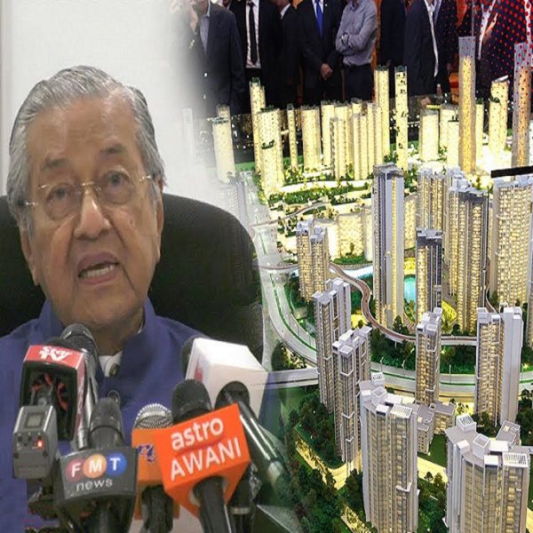 Dr M announces revival of Bandar Malaysia project  M'sia News