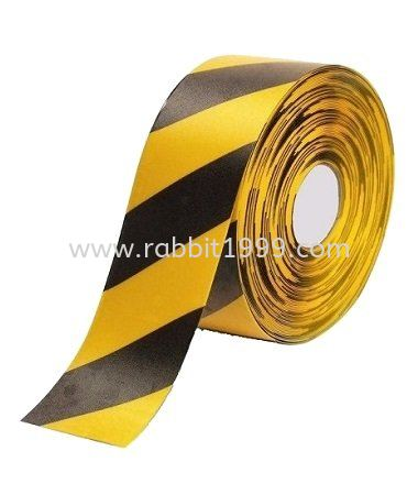FLOOR SAFETY TAPE - yellow & black FLOOR TAPE TRAFFIC SAFETY PRODUCTS