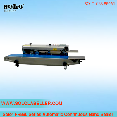 Solo® FR880 Series Continuous Band Sealer SOLO-CBS-880A1