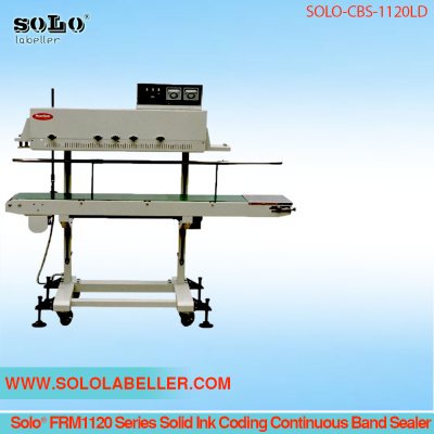 Solo® FRM1120 Solid Ink Coding Continuous Band Sealer SOLO-CBS-1120L