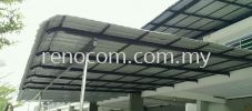 Metal roof awning Metal Awning Contractor in Klang valley / KL / PJ  屋顶铁棚装修