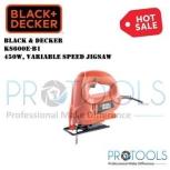 KS600E BLACK & DECKER 450W VARIABLE SPEED JIGSAW FOC 2 PCS BOSCH JIGSAW WOOD BLADE