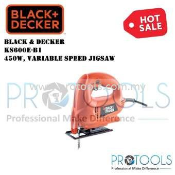 KS600E BLACK & DECKER 450W VARIABLE SPEED JIGSAW FOC 2 PCS BOSCH JIGSAW WOOD BLADE