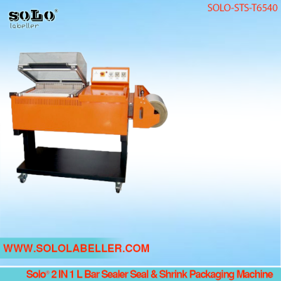 Solo® 2 IN 1 L Bar Sealer Seal & Shrink Packaging Machine SOLO-LBS-BF5540