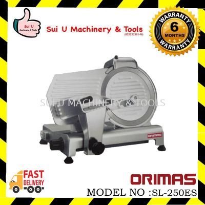 ORIMAS Semi-Auto Meat Slicer 250mm 10""