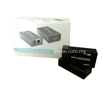 HDMI Extender Signal By Single Cat-5E/6