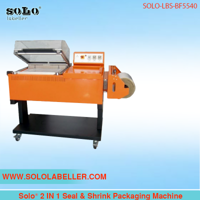 Solo® 2 IN 1 Seal & Shrink Packaging Machine SOLO-LBS-BF5540