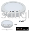 12W LED SURFACE DOWNLIGHT ROUND - AY-12W-RD Surface Downlight DOWNLIGHT