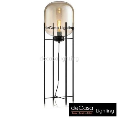 DESIGNER MODERN FLOOR LAMP GLASS