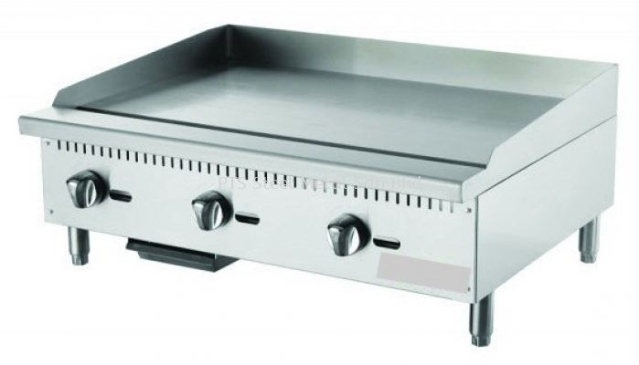 GAS GRIDDLE TABLE TOP 4ft