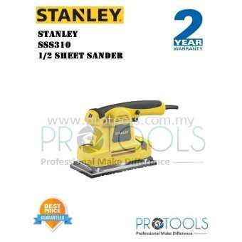 STANLEY SSS310 1/2 SHEET SANDER - FOC 3 THING - AUTHORISE SERVICE DEALER (SOUTH MALAYSIA)