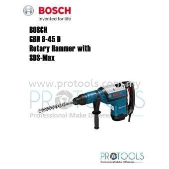 BOSCH GBH 8-45 D ROTARY HAMMER