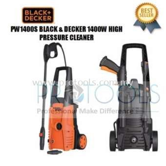 PW1400S BLACK & DECKER 1400W WATER JET HIGH PRESSURE CLEANER
