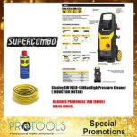 STANLEY SW19 XD-130 BAR HIGH PRESSURE CLEANER (INDUCTION MOTOR) - 2 YEARS WARRANTY FOC 2 THING!