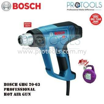 BOSCH GHG20-63 KIT PROFESSIONAL HEAT GUN 2000W (HEAVY DUTY)