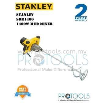STANLEY SDR1400 1400W MUD MIXER - 2 YEARS WARRANTY