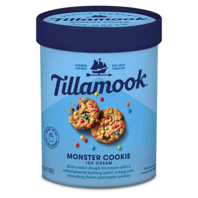 Tillamook Monster Cookie 1.66L