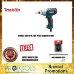 MAKITA TD0101F 230 WATT IMPACT DRIVER (1 YEAR WARRANTY) FOC 10PCS MAKITA SCREW DRIVER BIT