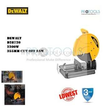 DeWALT D28720 2300W 355MM CHOP SAW CUT OFF SAW METAL SAW METAL MITER SAW MITRE