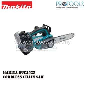 MAKITA DUC252Z CORDLESS CHAIN SAW 250MM