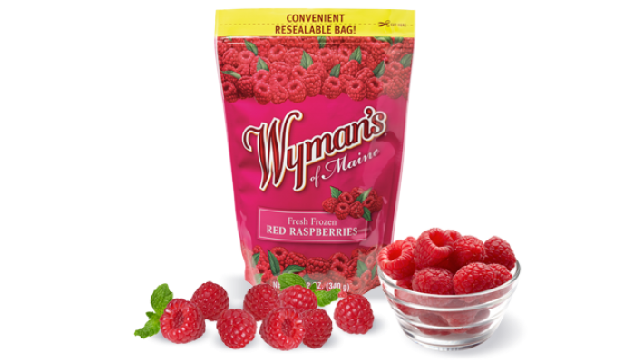 Wyman's Red Raspberies 12oz