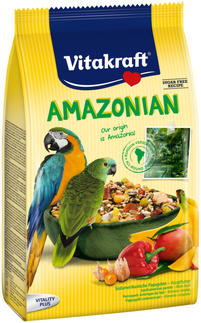Vitakraft Amazonian for South American Parrot (750g)