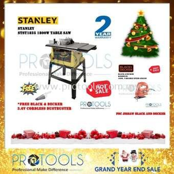 STANLEY TABLE SAW STST1825 FOC VACUUM + BLACK & DECKER JIGSAW