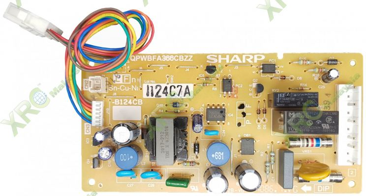 FPWB-B124CBKZ SHARP FRIDGE PCB BOARD
