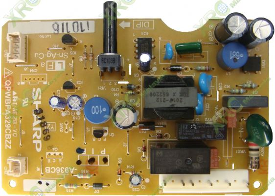 SJ-273TSL SHARP FRIDGE PCB BOARD
