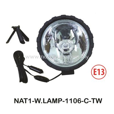 WORKING LAMP(H324V55W)CLEAR LENS