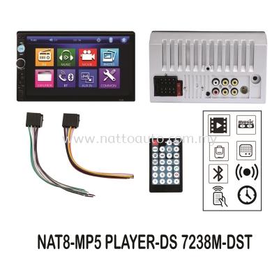 7inch 2DIN (USB+C.SLOT+BT+STEEL WHEEL) 12V
