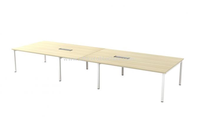 MUPHI RECTANGULAR CONFERENCE MEETING OFFICE TABLE  ASVB48 (C/W FLIPPER COVER)