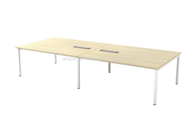 MUPHI RECTANGULAR CONFERENCE MEETING OFFICE TABLE  ASVB30 (C/W FLIPPER COVER)