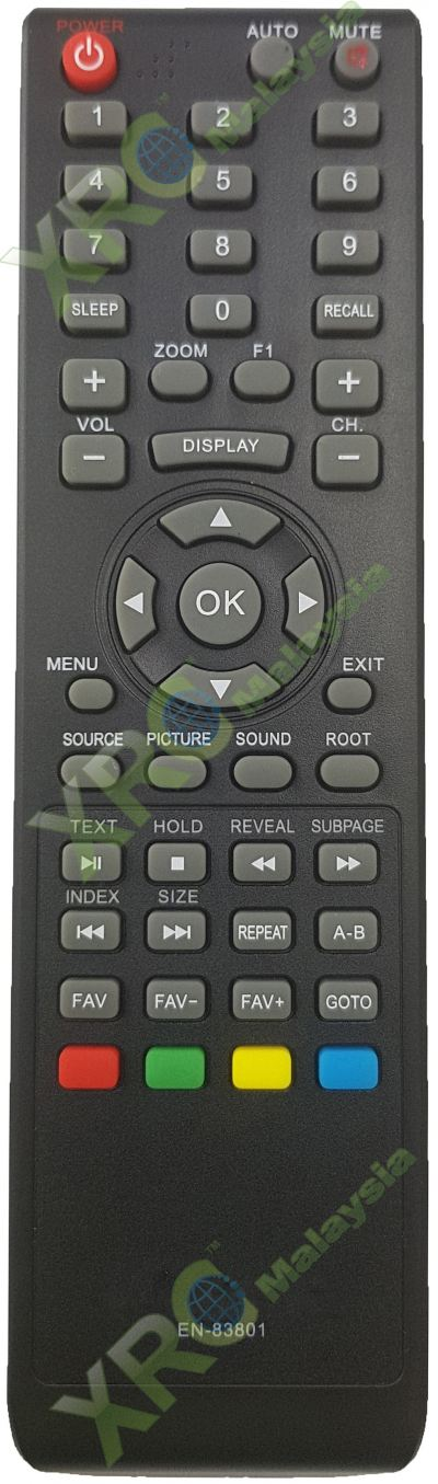 PLCD-3209 PENSONIC LCD LED TV REMOTE CONTROL