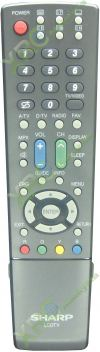 GA701WJSA SHARP LCD/LED TV REMOTE CONTROL  SHARP LCD/LED TV REMOTE CONTROL