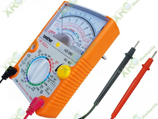 HD-390 BROTHER MULTI-TESTER