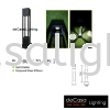 OUTDOOR LIGHT BL 120GU/70/SBK Outdoor Garden Bollard  OUTDOOR LIGHT