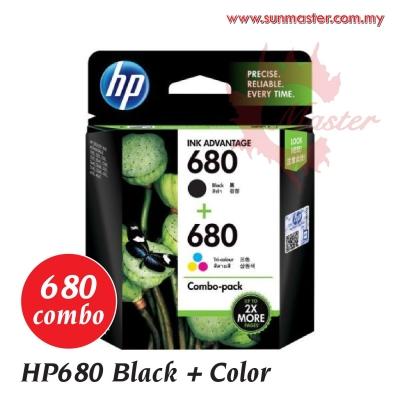 HP680 Combo Black+Color