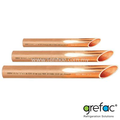 Grefac EN 1057 Copper Pipe for Water & Gas