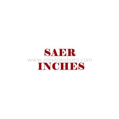 SAER 2-5 INCHES
