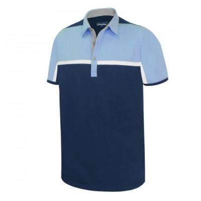 PHSH 268 Barry Iron blue/Powder Blue/White/Light Grey Modern Fit Apparel