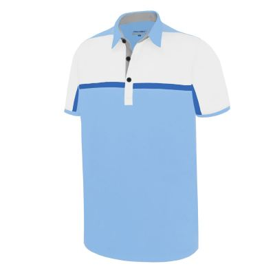 PHSH 268 Barry Powder Blue/White/Blue Solar/Light Grey Modern Fit Apparel