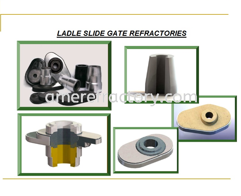 Ladle Slide Gate Refractories To SEA