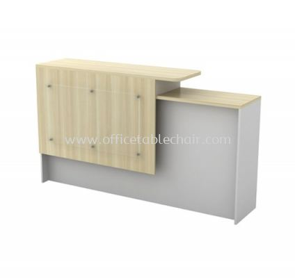 MUPHI EXECUTIVE OFFICE RECEPTION COUNTER WOODEN BASE AB-SCT 1800 (L)