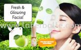 Intensive Mask : Fresh & Glowing Facial ( 5 Session + Free gift  ) Facial Package Session In-House Treatment