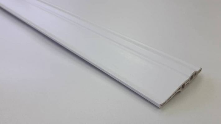 70mm PVC Skirting - White ( PSK70-1012 )